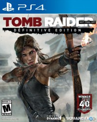 Đĩa PS4 - Tomb Raider : Definitive Edition