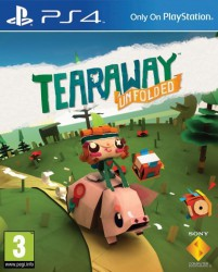 Đĩa PS4 - Tearaway Unfolded