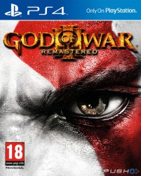 Đĩa PS4 - God of War III Remastered